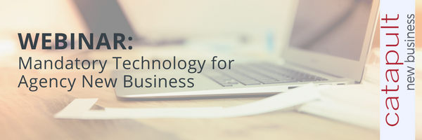 (Webinar) Mandatory Technology for Agency New Business
