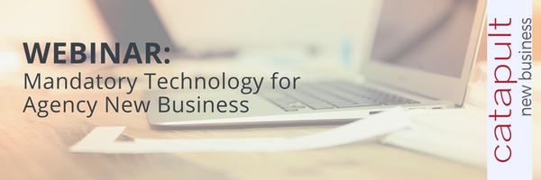 (Webinar) Mandatory Technology for Agency New Business